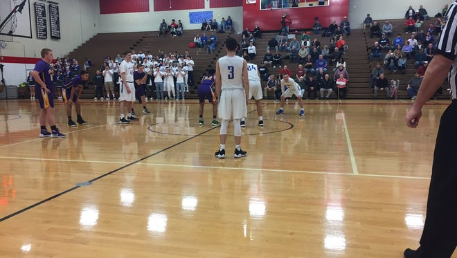 A hot-shooting Ephrata team knocked Cedar Crest out of the L-L playoffs with an 84-69 quarterfinal win at Warwick on Monday night.