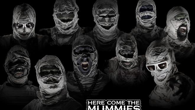 Funk band Here Comes the Mummies will headline Funk Fest 9 in Punta Gorda this weekend.