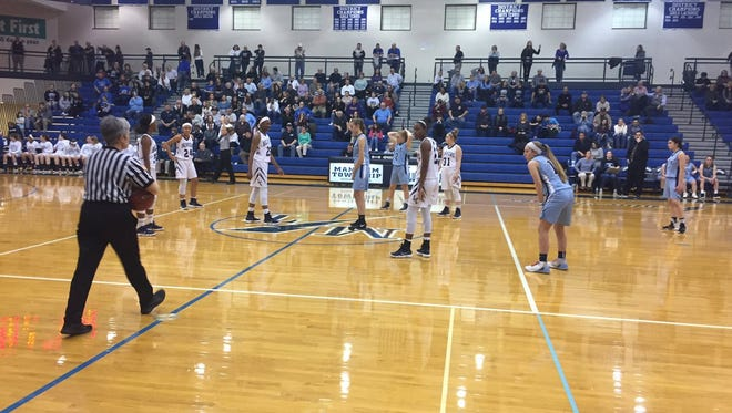 The Lebanon Catholic girls basketball team took a step closer to the program's 20th district title with a 68-23 semifinal win over Christian School of York on Tuesday night.