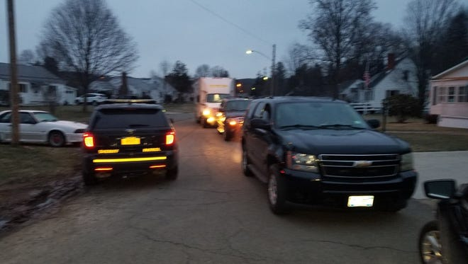 Law enforcement agencies executed a search warrant early Friday, April 6, 2018, in the Town of Southport.