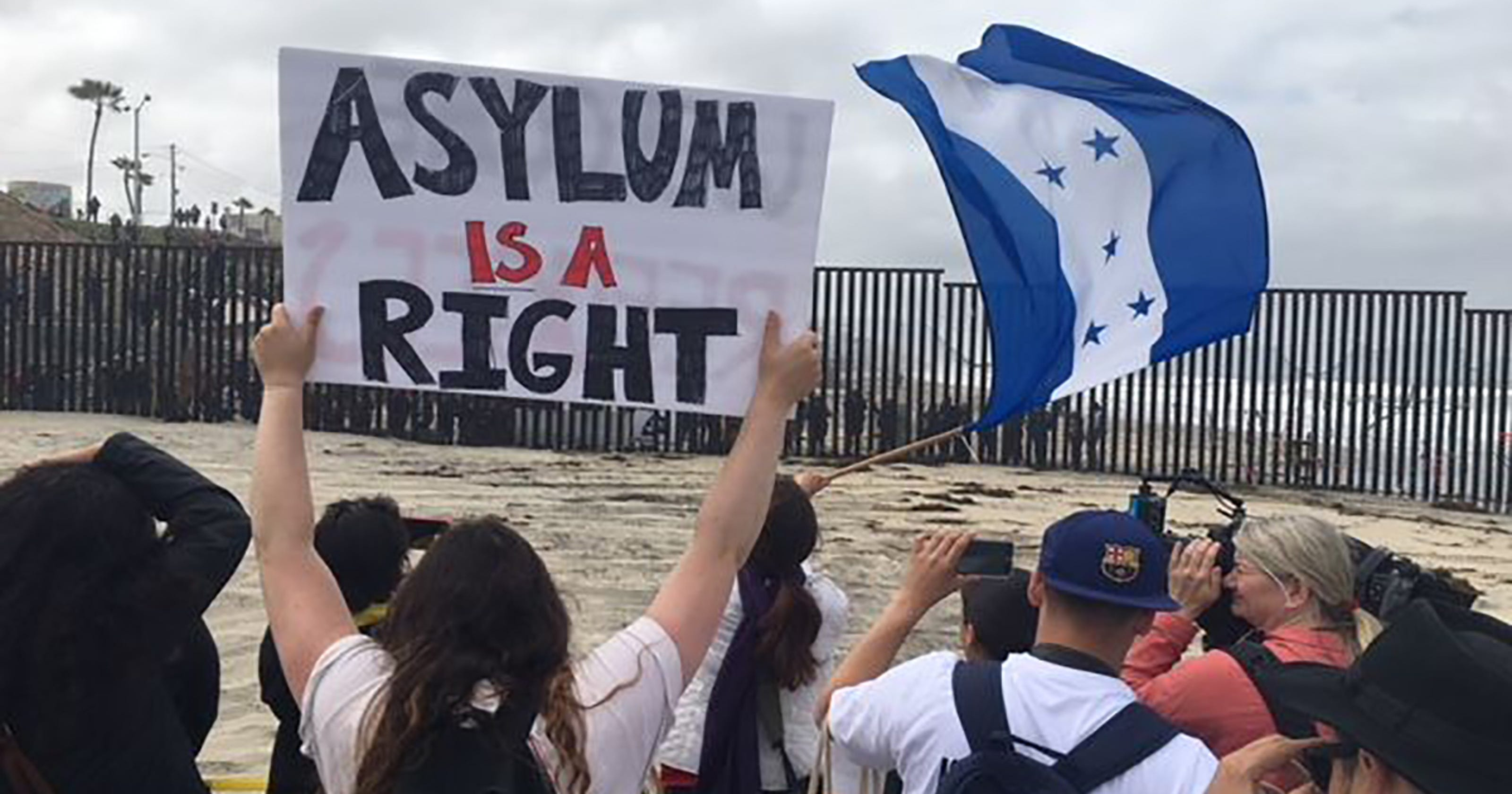 caravan arrival: what does it mean to seek asylum in u.s.
