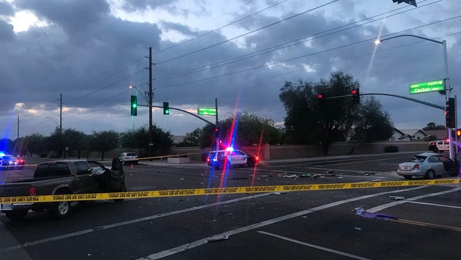 Peoria police are investigating a fatal crash at Cactus Road and 87th Avenue.