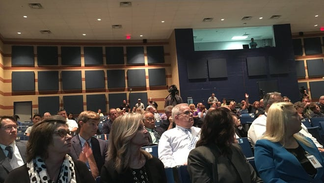 Approximately 60 people attended a special called Rutherford County School Board meeting focused on school safety.