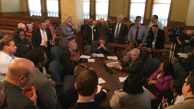 The Finance and Personnel Committee meets before the full Common Council meeting to discuss a possible settlement in a lawsuit brought by the ACLU of Wisconsin.