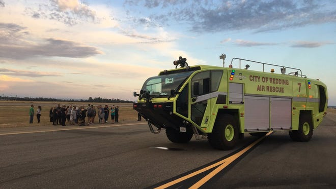 About 40 people were evacuated from a passenger plane after the cabin filled up with smoke.