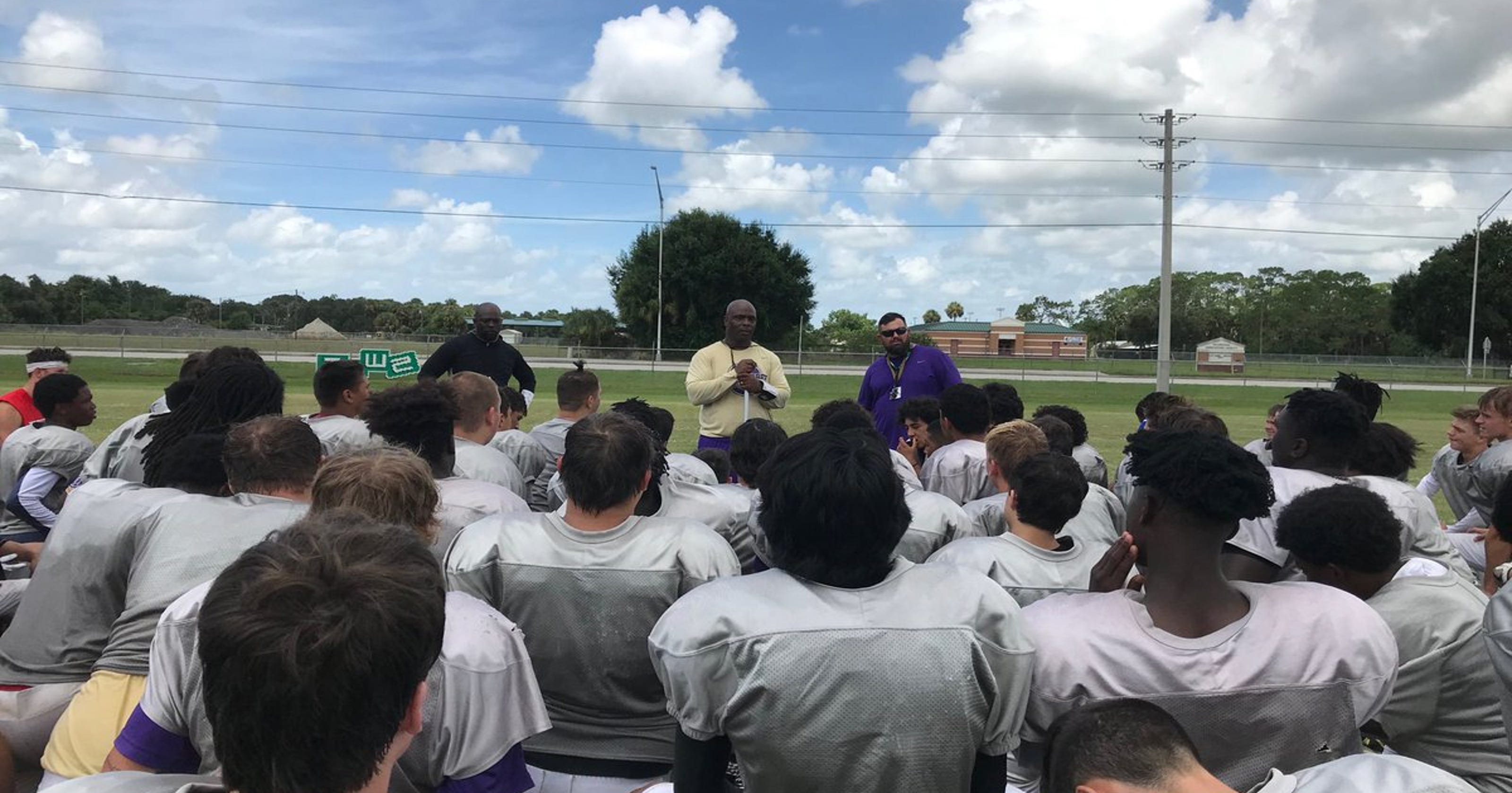 New Okeechobee football coach brings the energy