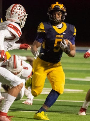 Wichita Northwest's Julius Bolden has led the Grizzlies to a 4-0 start, rushing for more than 500 yards while playing less than half of Northwest's games.