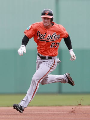 Rule V draftee Joey Rickard is all but assured of making the Orioles roster; will he have a consistent role in left field?