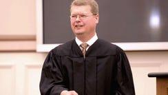 Sauk County Circuit Court Judge Michael Screnock.