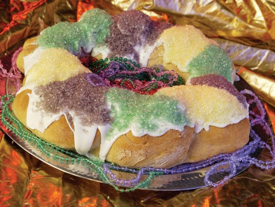 Gluten Free King Cake Lafayette
