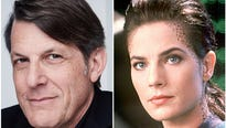 The son of original series star Leonard Nimoy is engaged to Terry Farell, who played Lt. Cmdr. Jadzia Dax on ' Star Trek: Deep Space Nine.'