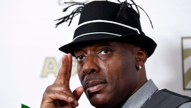 The hip-hop artist Coolio, at the ASCAP Rhythm & Soul Awards, June 24, 2015 in Beverly Hills, Calif.