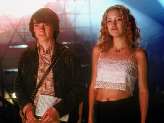 'Almost Famous,' starring Patrick Fugit and Kate Hudson,