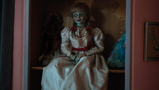 The Annabelle doll went solo in 'The Conjuring' spinoff 'Annabelle.'