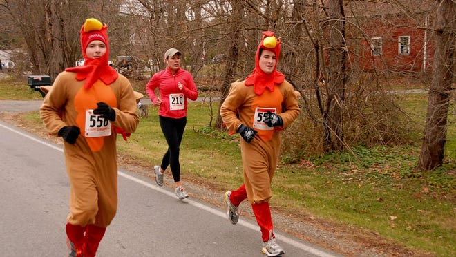 Runners take part during past Turkey Trot races in LaGrange.