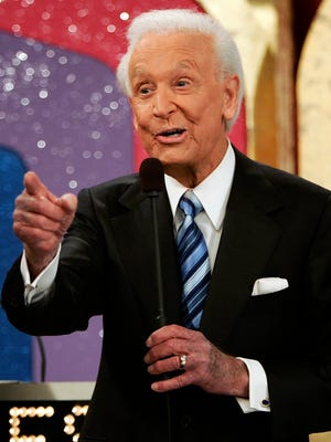 """Bob on the set of """"The Price is Right"""" on June 6, 2007, in Los Angeles."""