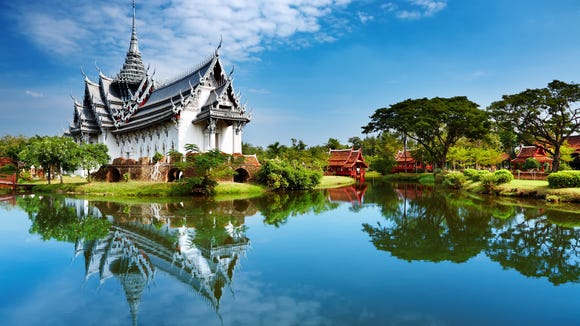 Bangkok was one of the five most searched for international