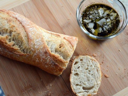 Italian Oregano Bread Dip has a few drops of oregano essential oil.