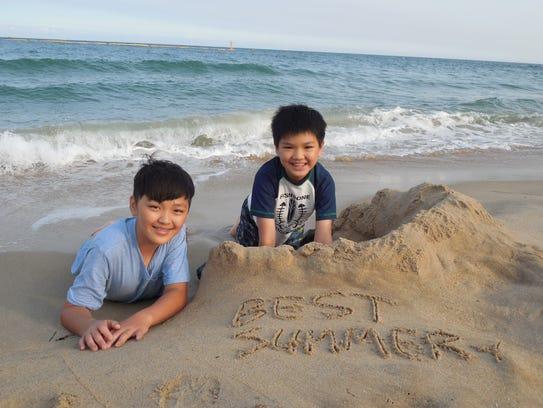 Sangyoub Park South Korean Beach