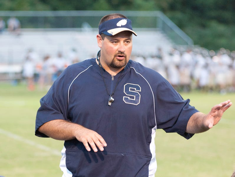Tyler Williams stepped down as Sycamore's football coach on Wednesday.