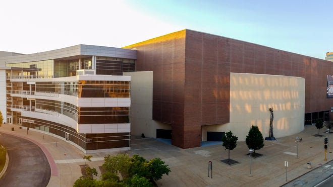 The Peoria Civic Center at 201 SW Jefferson Ave. in Downtown Peoria is seen July 28.