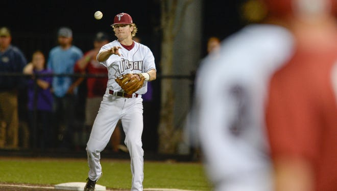 Brandon Lockridge, a Catholic High graduate and Troy sophomore second baseman, leads the Trojans with a .361 batting average and will be part of the former local stars playing in this weekend's Cox Diamond Invitational at Blue Wahoos Stadium.