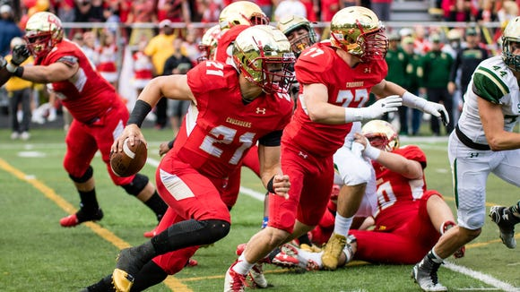 Johnny Langan and Bergen Catholic will look to take down St. Peter's Prep on Saturday for what would be another big victory.