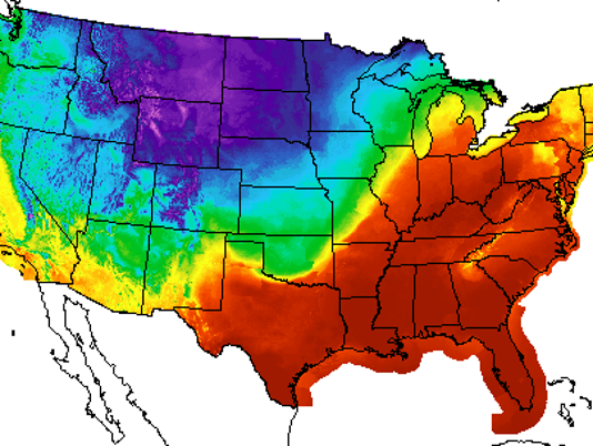 Los Angeles Weather Map Today.Detroit Is Warmer Than Phoenix And Los Angeles Today It S February