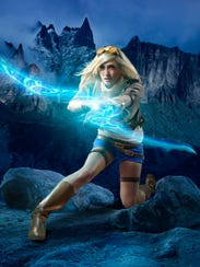 Lindsay Elyse as Ezreal  from League of Legends.