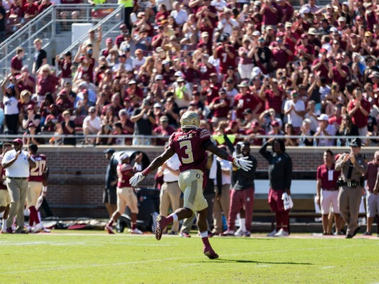 On Saturday, Florida State redshirt sophomore Derwin James reminded everyone why he's the best defensive back in the nation.
