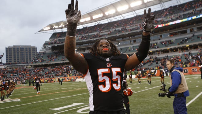 Cincinnati Bengals outside linebacker Vontaze Burfict will return to practice on Thursday.