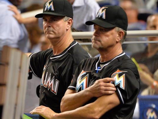 USP MLB: BALTIMORE ORIOLES AT MIAMI MARLINS S BBN USA FL