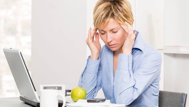Chronic stress occurs when we don't allow ourselves to get back into balance before the next big stressful event.