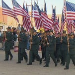 Parades in Fort Worth and Dallas will honor veterans on November 11, 2014.