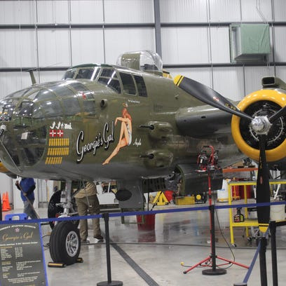 One of the Liberty Aviation Museum's most prized planes,