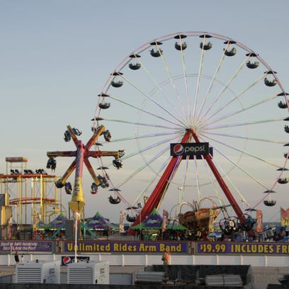 The Jolly Roger Giant Wheel — is returning to the pier