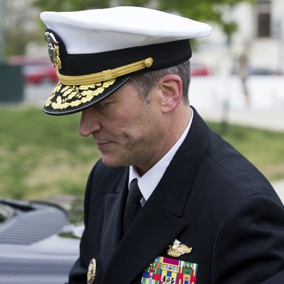 Navy Rear Adm. Ronny Jackson, President Trump's nominee