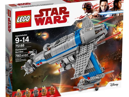 75188 - Resistance Bomber (RRP: $109.99 USD, $139.99