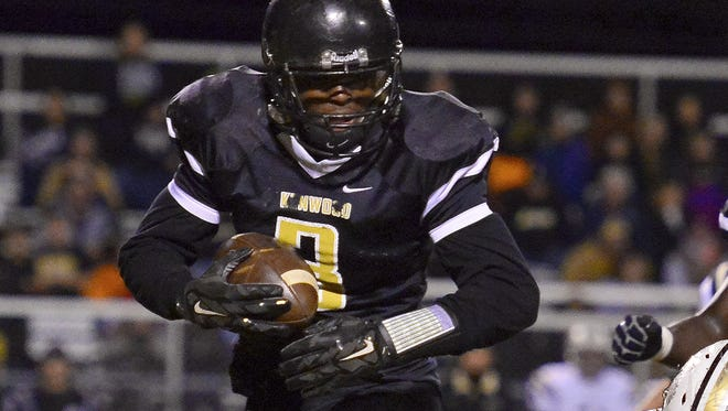 Kenwood running back Antuan Branch (3) has committed to play at Purdue.
