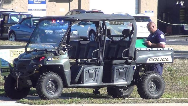 A utility terrain vehicle (UTV) similar to the one St. Francis is planning to purchase by spring 2018. The FBI Milwaukee Citizens Academy Alumni Association is helping to raise funds and purchase the UTV.