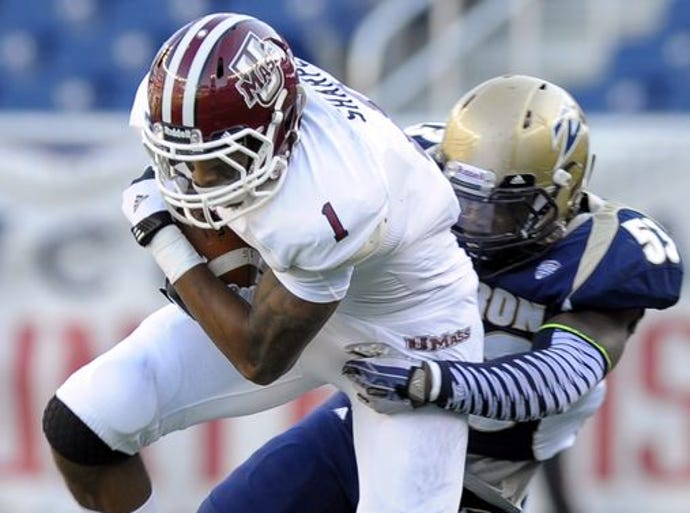 No. 128 UMass: The Minutemen have a new coach, Mark Whipple, but the same outlook on what should be a dismal 2014 season. Even in a Mid-American Conference without viable contenders outside the top four, UMass is a long shot to win more than one game during the regular season.