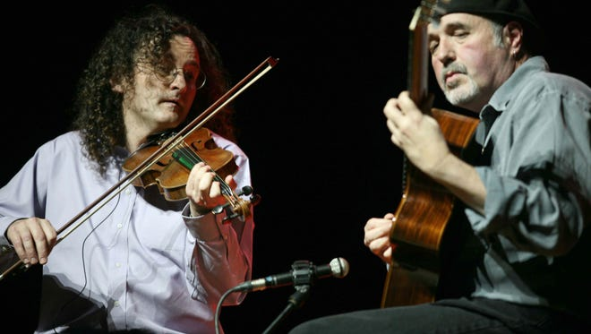 Martin Hayes and Dennis Cahill perform 8 p.m. May 27 at Diana Wortham Theatre.