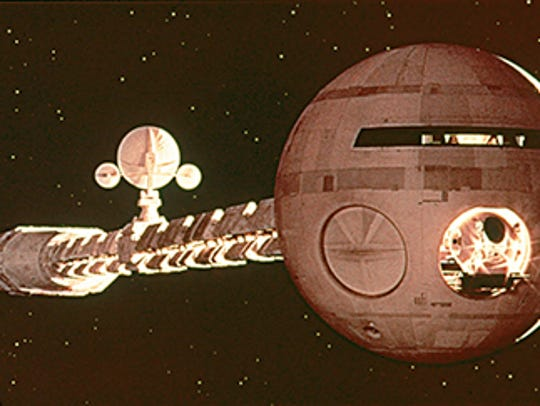 """Scene from the 1968 motion picture """"2001: A Space Odyssey."""""""