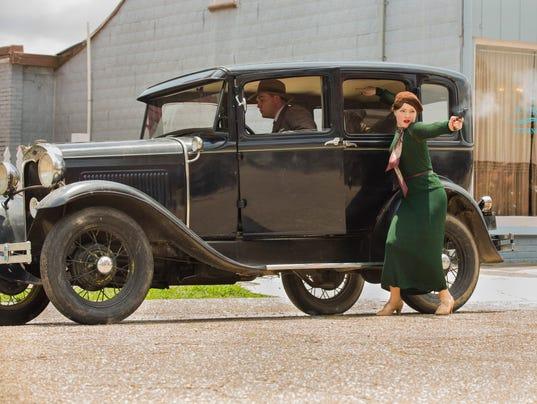 Bonnie & Clyde getaway car
