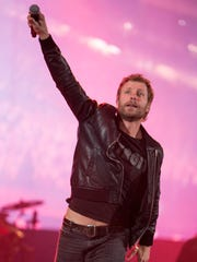 Dierks Bentley performs during the Kick the Dust Up