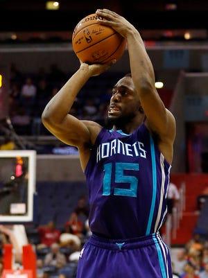 Kemba Walker guided the Hornets offense last season.