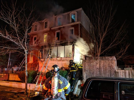 Wilmington firefighters responded to a residential fire early Wednesday morning which affected five adults and a child.