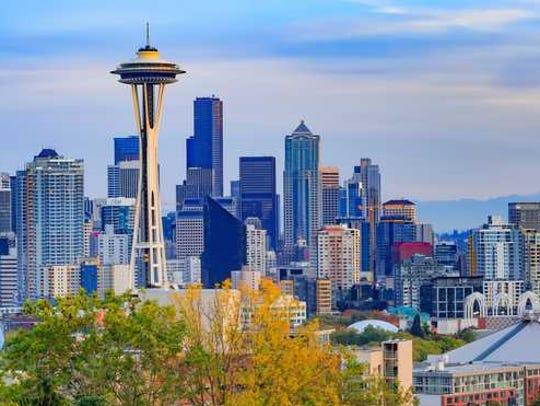 downtown Seattle Washington skyline