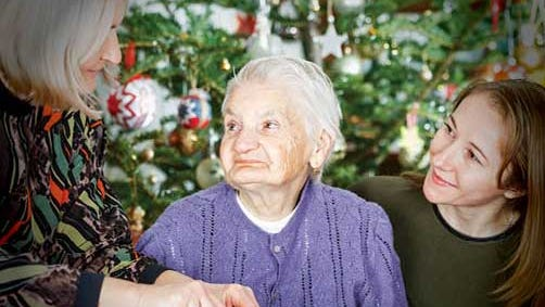 Dr. Ginsberg suggests that modifying expectations can help caregivers successfully navigate the holidays with a family member who has Alzheimer's.
