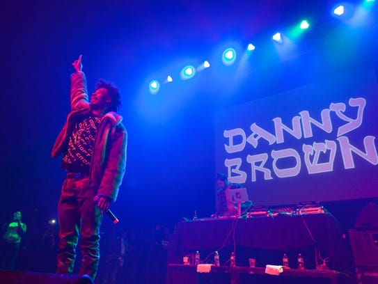 Detroit-based progressive hip-hop artist Danny Brown
